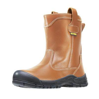 BT-8835 BEETHREE 9.5-Inches Pull-Up Safety Boot SIZE 11(Orange)