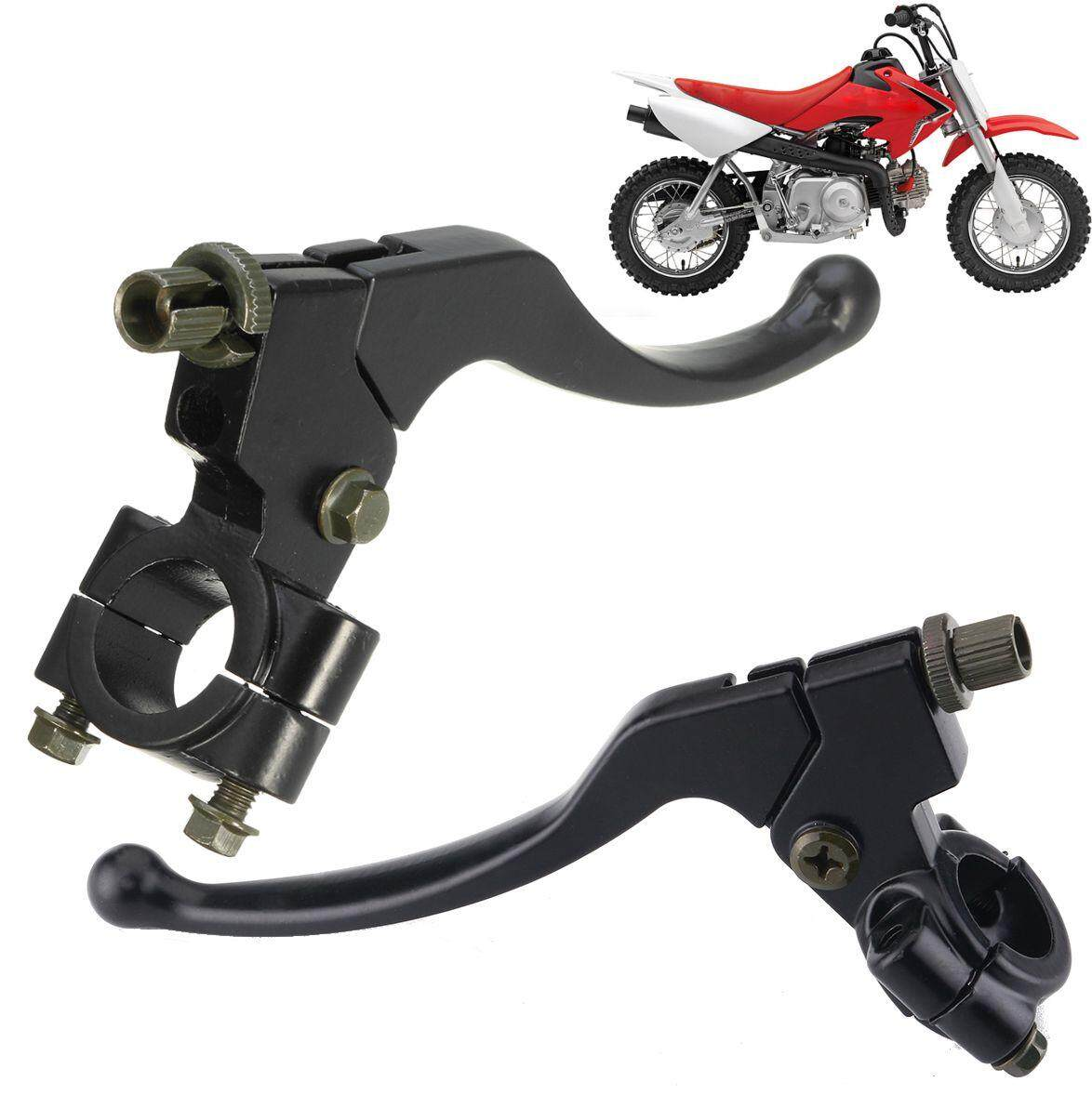 【free Shipping + Flash Deal】pair Clutch Brake Lever Set W/ Perch For Honda Crf50f Crf70f Crf80f Crf100f By Haldis.