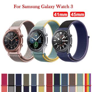 Dây Đeo Đồng Hồ Bằng Nylon 50 Màu Cho Samsung Galaxy Watch 3 41Mm 45Mm Dây Đeo Cổ Tay Thể Thao Thoáng Khí Cho Samsung Galaxy Watch 3 thumbnail