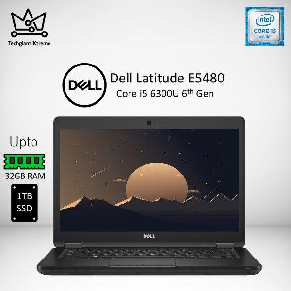 Dell Latitude 5480 Core i5 6300U ( 6th Gen ) 14 FHD / Upto 32GB RAM / 1TB SSD / 14 inch Full HD Screen / Windows 10 Pro / Refurbished Notebook Malaysia
