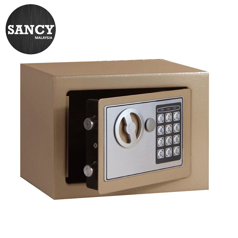 SANCY Safe Home Mini Safety Box Into The Wall Electronic Password Safe Deposit Box Office Coffer - Fulfilled by SANCY