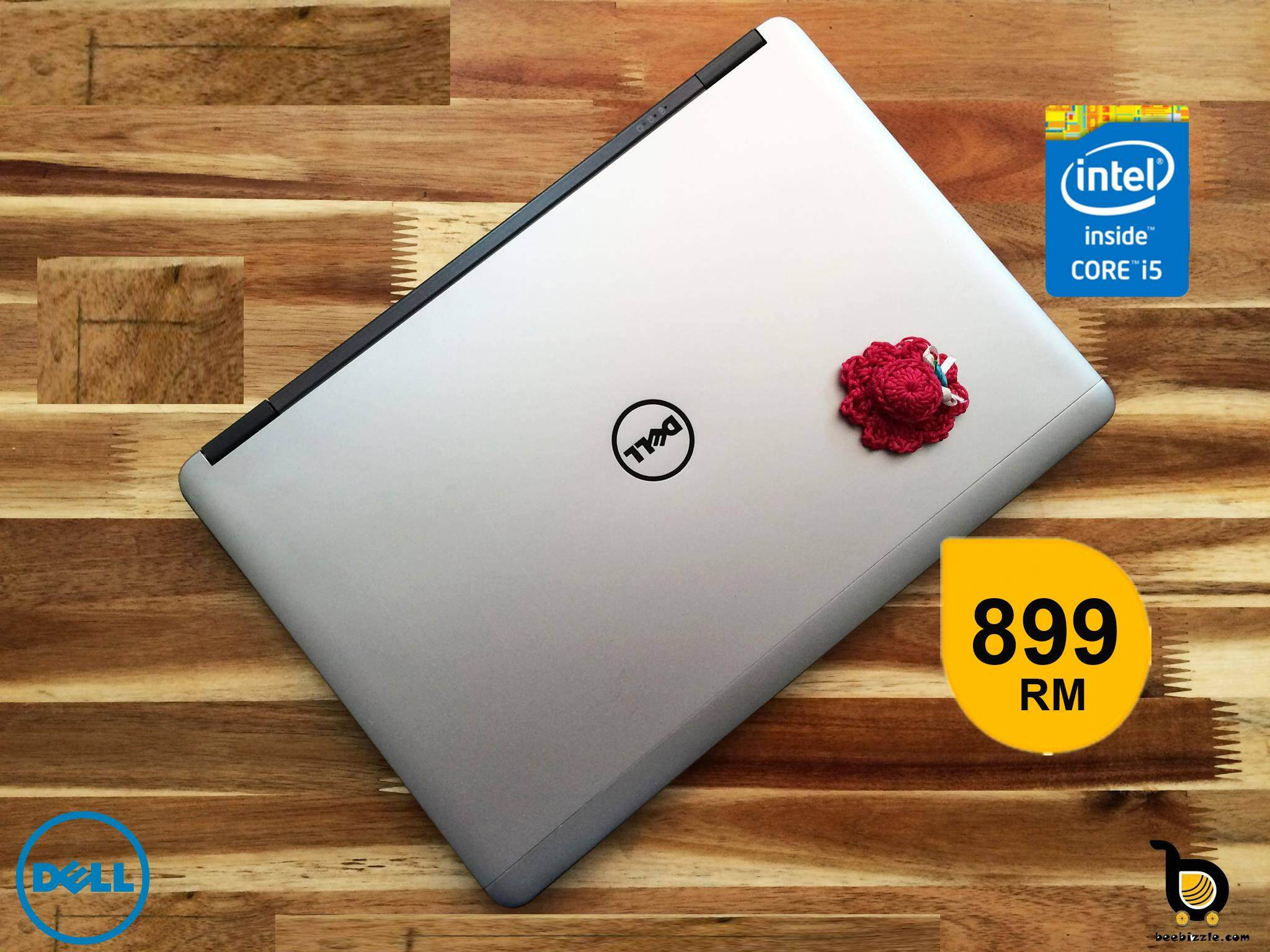 Dell Latitude E7240, Intel Core i5 Processor, 4GB RAM, 128GB SSD, 12.5 Inch Screen, WLAN, Bluetooth, Web Camera, HD Graphics, Windows Malaysia