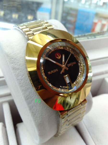 SPECIAL PROMOTION_RADO_AUTOMATIC FULL SET WITH  DATE AND DAY DISPLAY MINERAL CRYSTAL GLASS WATCH FOR MEN Malaysia