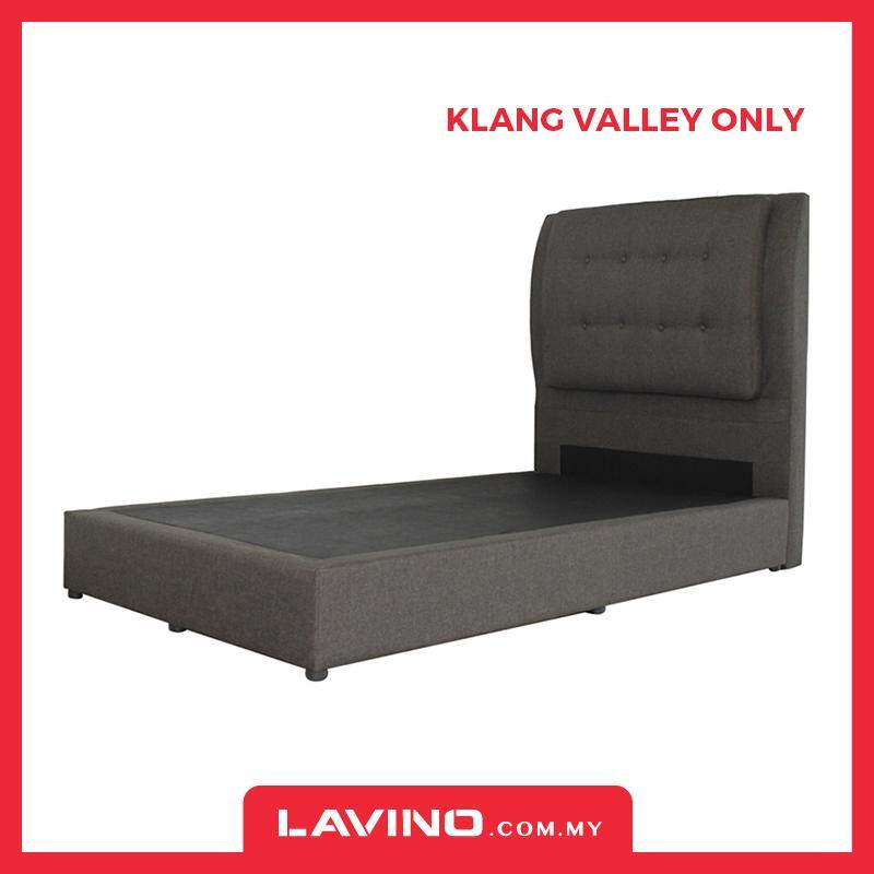 Lavino Tia Fabric Headboard + Divan (single/super Single) By Lavino.