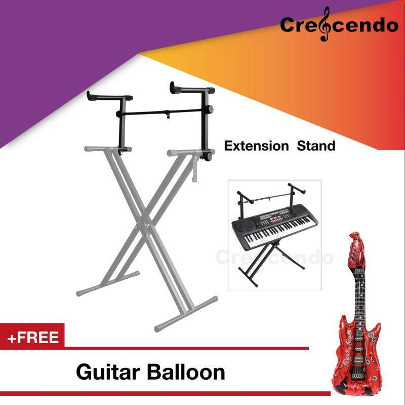 Music Keyboard Stand Extension Arm Second Tier Malaysia