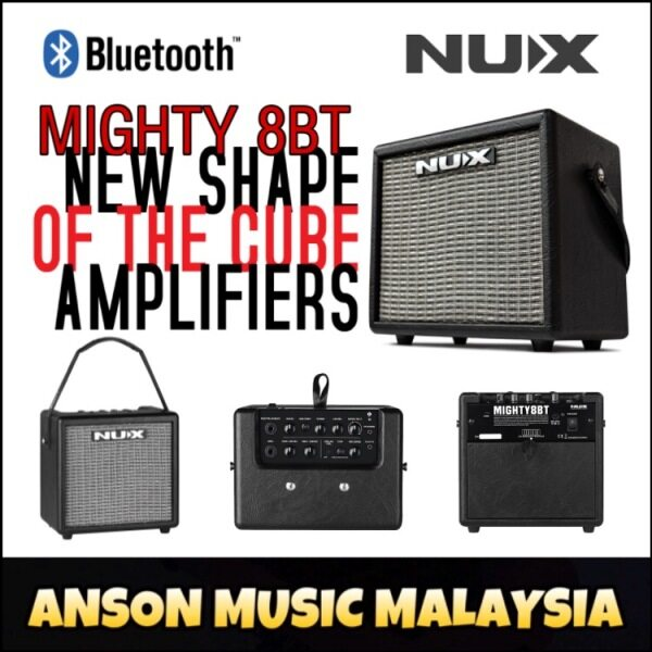 NUX Mighty 8BT Portable Amplifier (Mighty8BT) Malaysia
