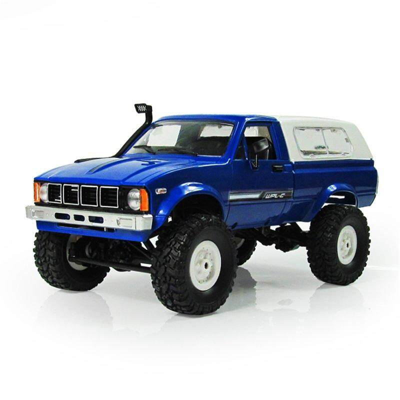 WPL C-24 1/16 Scale RC Car Rock Crawler 4WD Off-road Military Truck Best Toy image on snachetto.com
