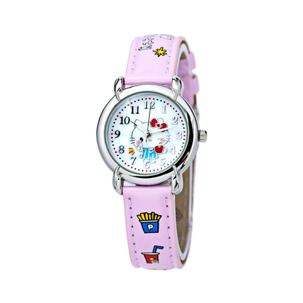 Sanrio Hello Kitty Girls Analog Watch HK1219CT Malaysia