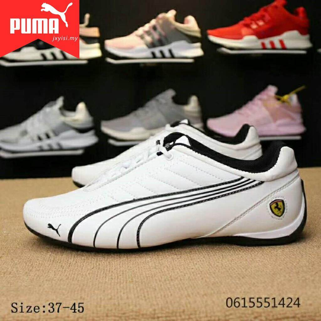SLK ★ Original PUMA Ferrari women's sneakers men's casual shoes Lelaki Wanita Kasut