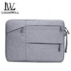 LouisWill Túi chống sốc laptop cao cấp chống thấm nước có nhiều ngăn tiện lợi 13.3 15.4 15.6 Inch LouisWill