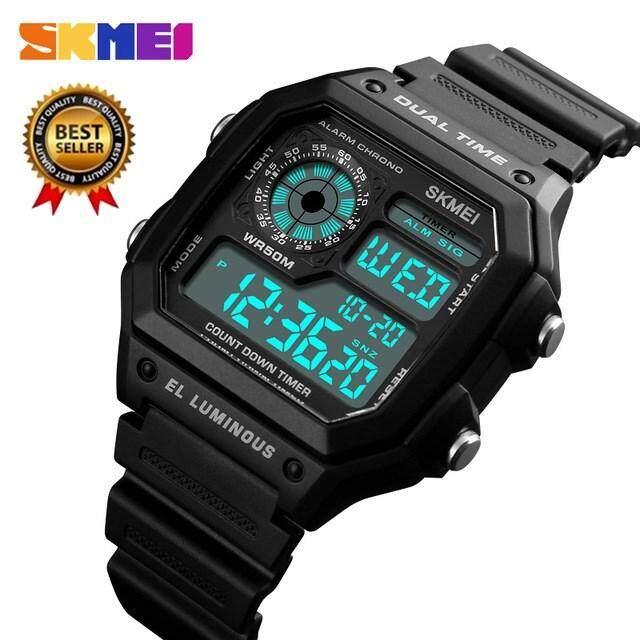 ĐỒNG HỒ NAM SKMEI 1299 quân sự mới đồng hồ thể thao nam cao cấp hàng đầu thương hiệu điện tử ĐÈN LED kỹ thuật số Đồng hồ nam đa chức năng đồng hồ Đồng Hồ Relogio Masculino bán chạy