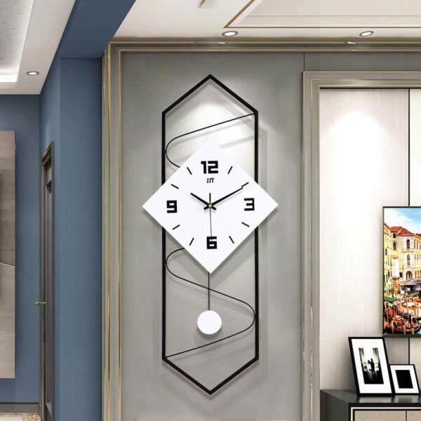 Nordic Wall Clock Living Room Bedroom Creative Home Decoration Clock Mute Pendulum Clock Modern Minimalist Watch (H70cm * W30cm)