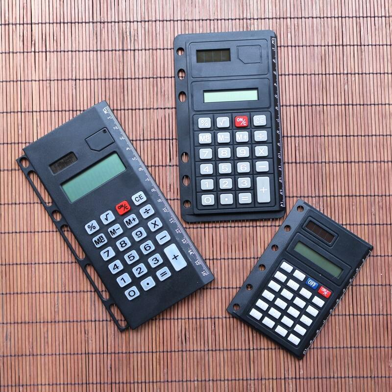 Mua Máy Tính Sáng Tạo Rời Lá 8 Máy Tính Số Với Thước A4 B5 A5 A6 A7 Xoắn Ốc Notepad Phụ Kiện Di Động Xách Tay Chất Kết Dính phụ Kiện