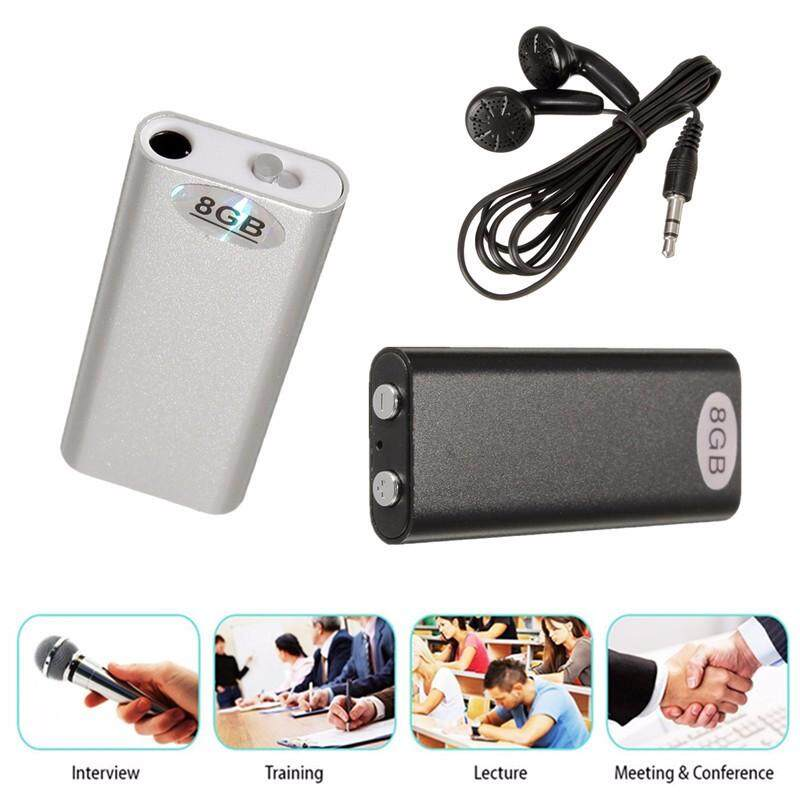 【Free Shipping + Flash Deal 】8GB Stylish Mini USB Voice Recorder Dictaphone U disk MP3 Player repeat machines NEW
