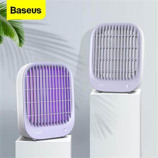 Baseus Mosquito Killer Lamp Uv Light Electronic Insect Killer Bug Zapper Fly Trap Lamp Electric Shock Anti Mosquito Usb Light