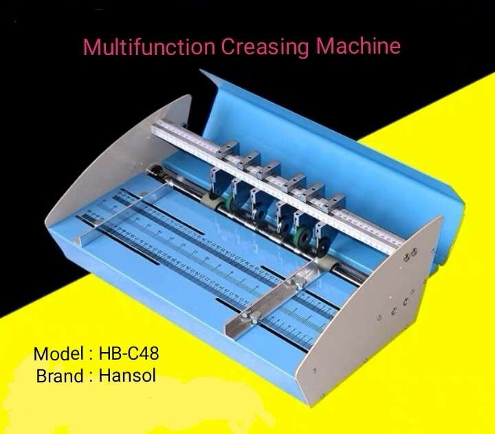 Electric Creasing Machine / Multifunction Electric Creasing machine/ HB-C48/Creasing Machine/Electric Creaser/