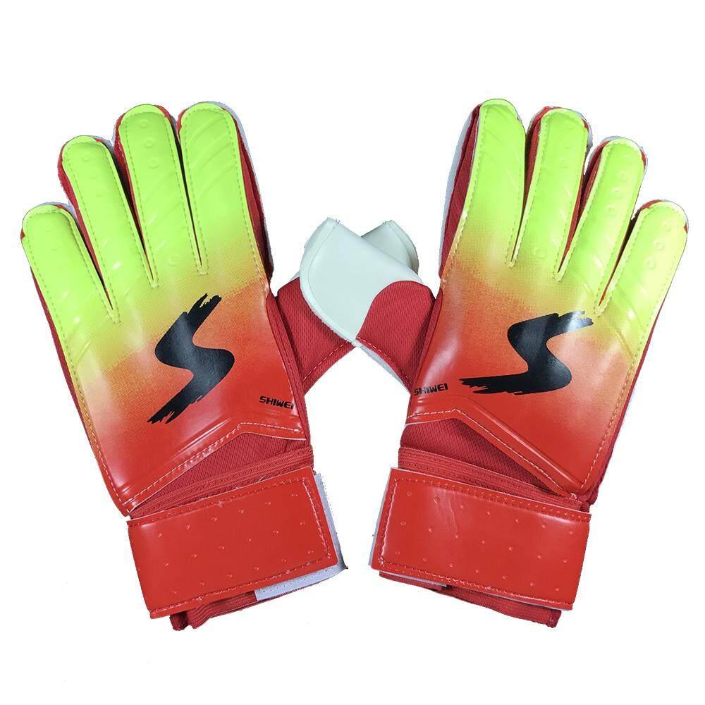 Goalkeeper Gloves Finger Protection Latex Soccer Goalie Gloves Breathable Sports Gloves By Koko Shopping Mall.