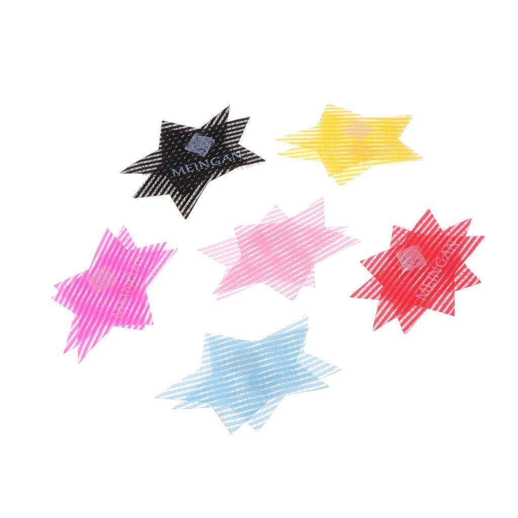 MagiDeal 6Pairs Colorful Magic Bang Hair Pad Hair Fringe Care Tool Makeup Accessories