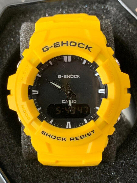NEW SPORTS CASIO_G_SHOCK_ DUAL TIME RUBBER STRAP WATCH FOR MEN Malaysia