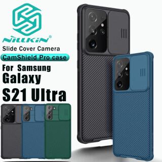 Ốp Nillkin CamShield Pro Ốp Lưng TPU Và PC Siêu Thân Thiện Với Samsung Galaxy S21 5G S21 Ốp Lưng Bảo Vệ Máy Ảnh thumbnail