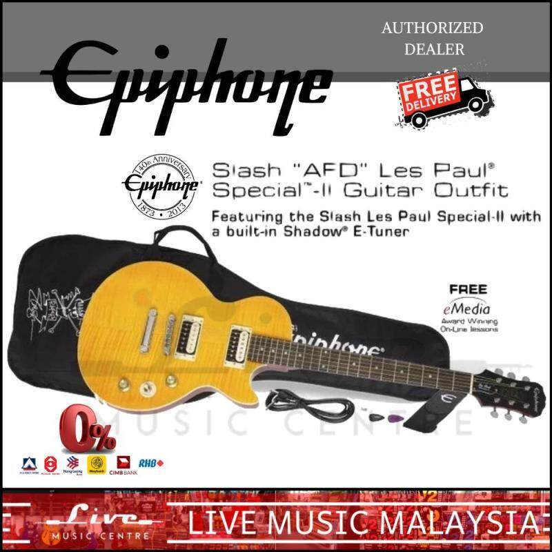 Epiphone Slash AFD Les Paul Special II Electric Guitar Outfit Package (Special-II) Malaysia