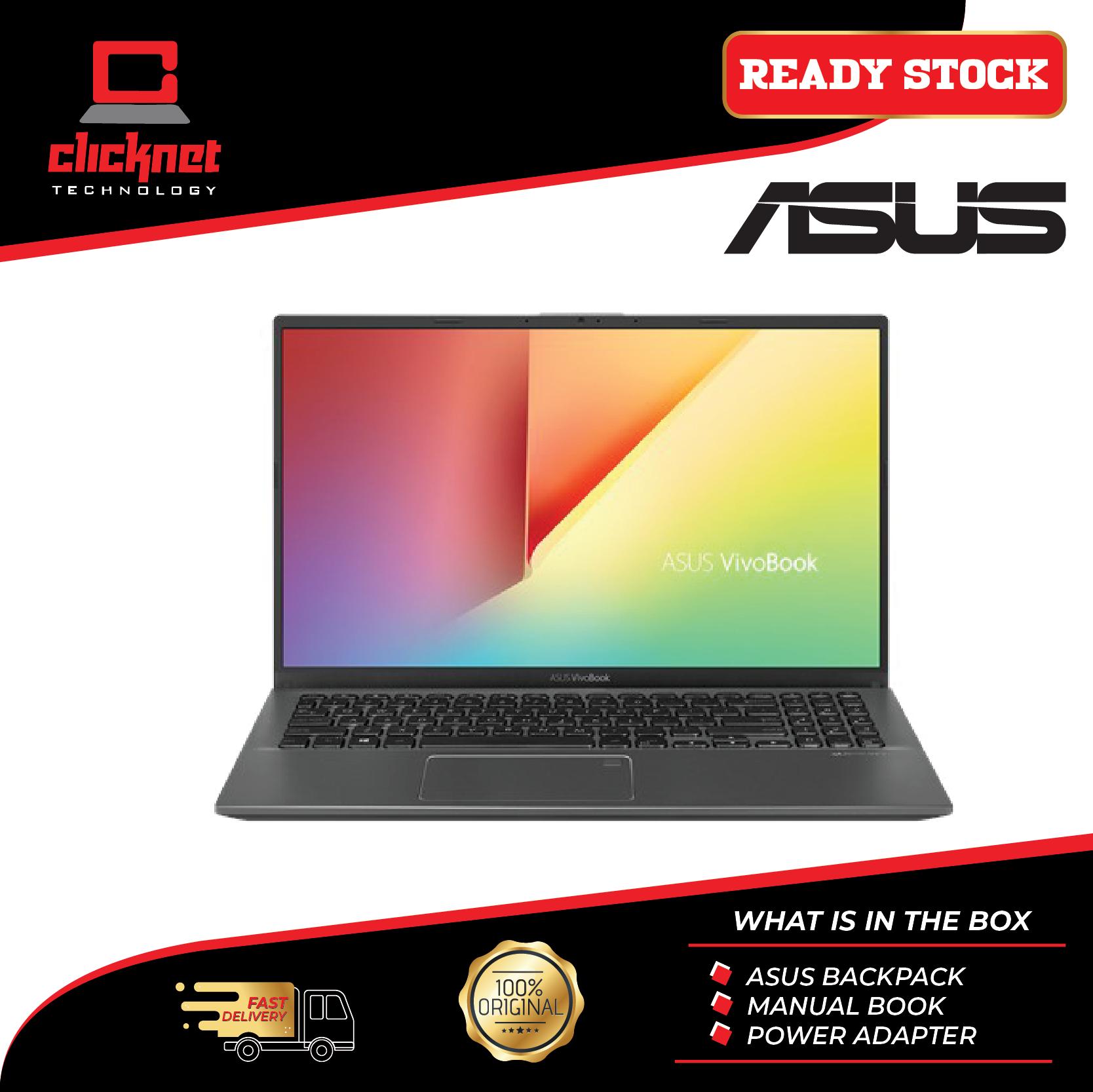 Asus Vivobook A512F-LBQ176T 15.6  FHD Laptop Grey (i5-8265U 4GB 512GB SSD NV MX250 2GB 15.6FHD W10) Malaysia