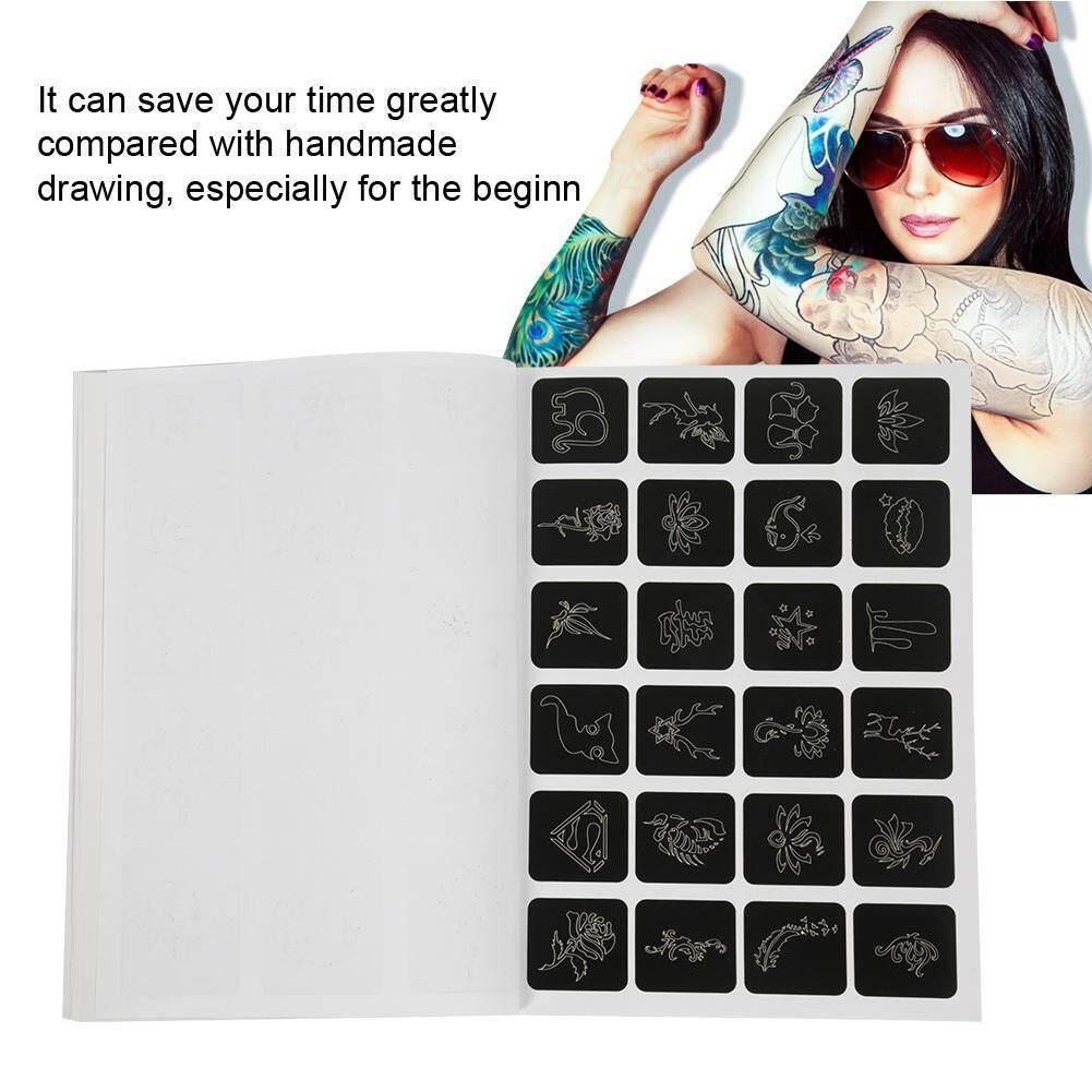 Bán vĩnh cửu Nhỏ Hình Xăm Stencil 118 Hoa Văn Bình Bơm Phun Tạm Thời Bản Mẫu nhập khẩu