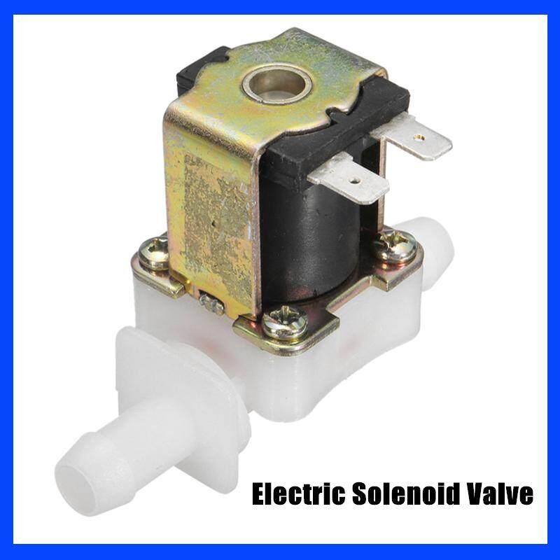 12V 12mm N/C Nhựa Điện Van điện từ Nước Từ Không Khí Thường Đóng NÓNG