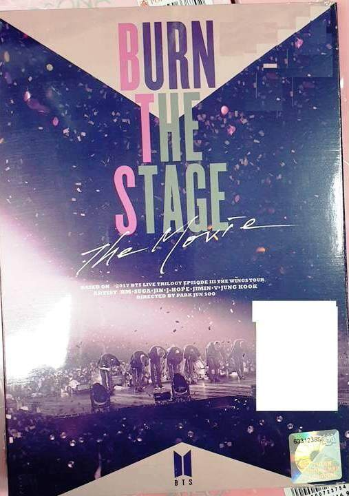 New Dvd Bts Burn The Stage : The Movie 2018 (malaysia Edition Dvd) By Onekm Animation Shop.