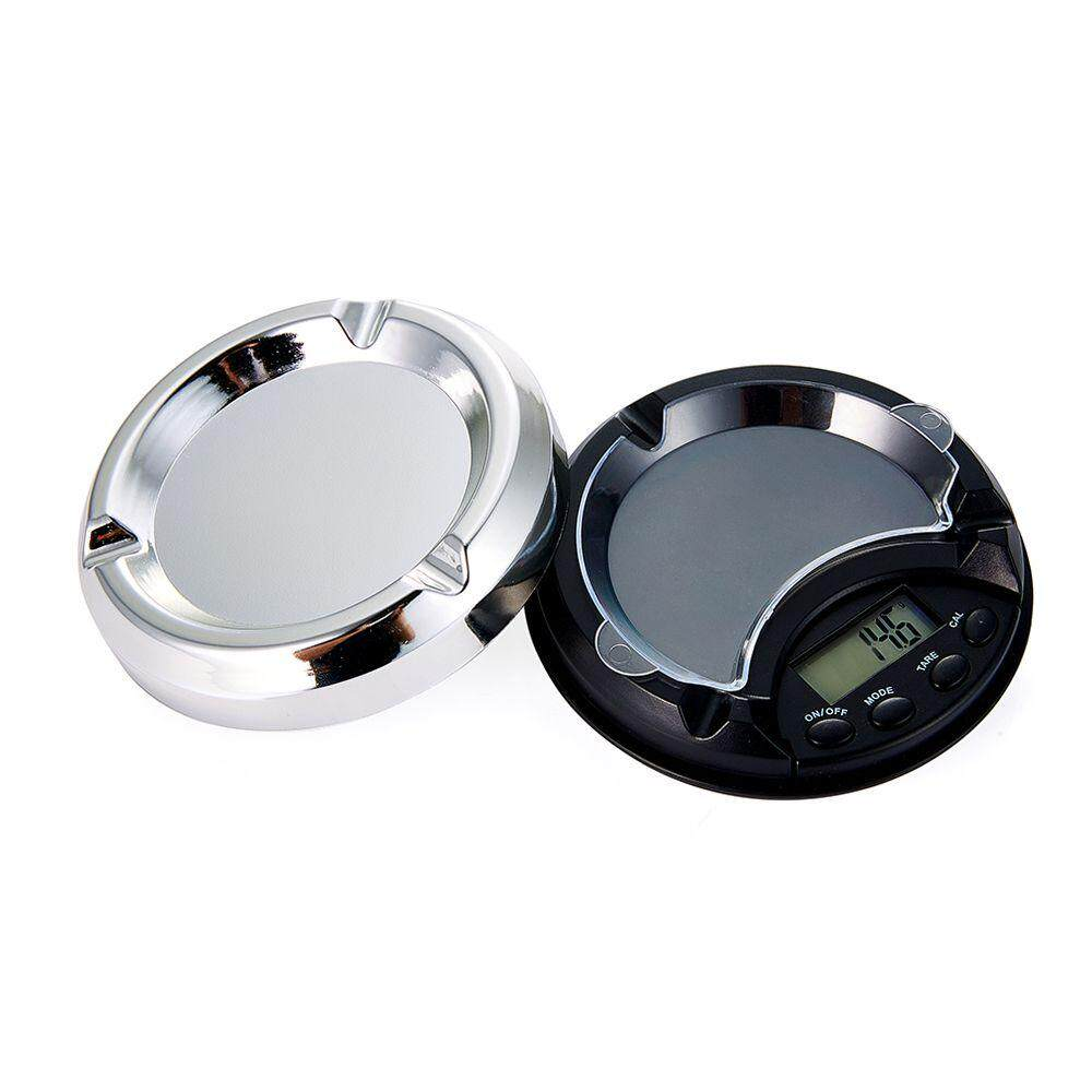Portable High Precision Ashtray Digital Scale for Gold Silver Jewelry Scale 500g/0.1g LCD Display Weight Scale