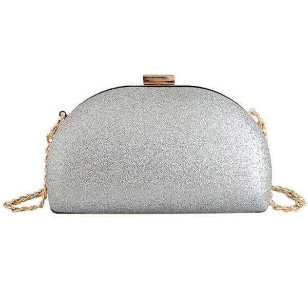 New Wave Evening Dinner Bag Shell Bright Face Fashion Clutch Bag Chain Shoulder Messenger Bag