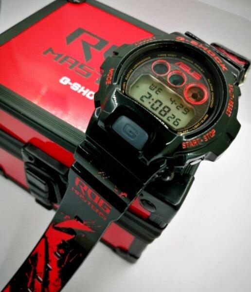 [LW13] ORIGINAL CASIO G-SHOCK DW6900 x ASUS ROG BLACK CUSTOM BNB Malaysia