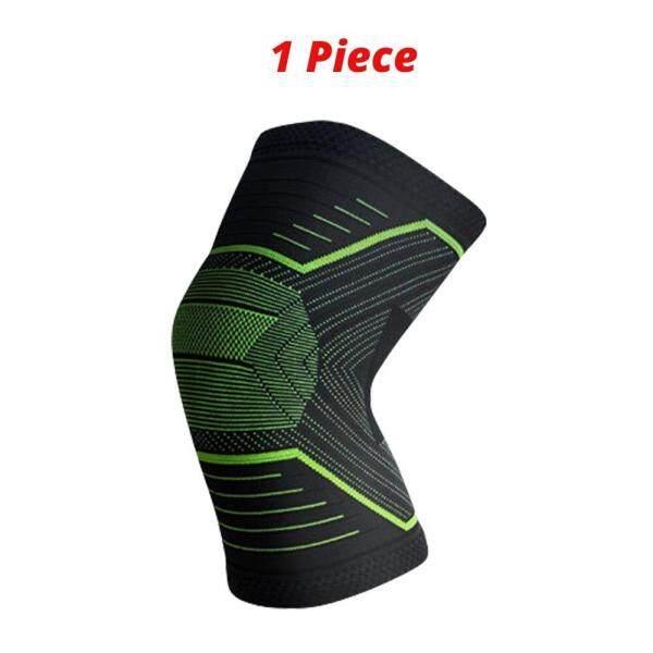 Albreda nylon đàn hồi thể thao Miếng đệm đầu gối thoáng khí hỗ trợ đầu gối nẹp chạy Squat tập thể dục đi bộ đường dài đi xe đạp bảo vệ đầu gối ss124