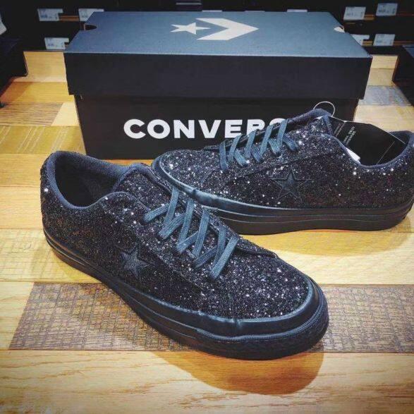 Size35-44 Hạt Cườm Lấp Lánh Cổ Ngắn Vài Đệm Giày Giày Sinh Viên giá rẻ