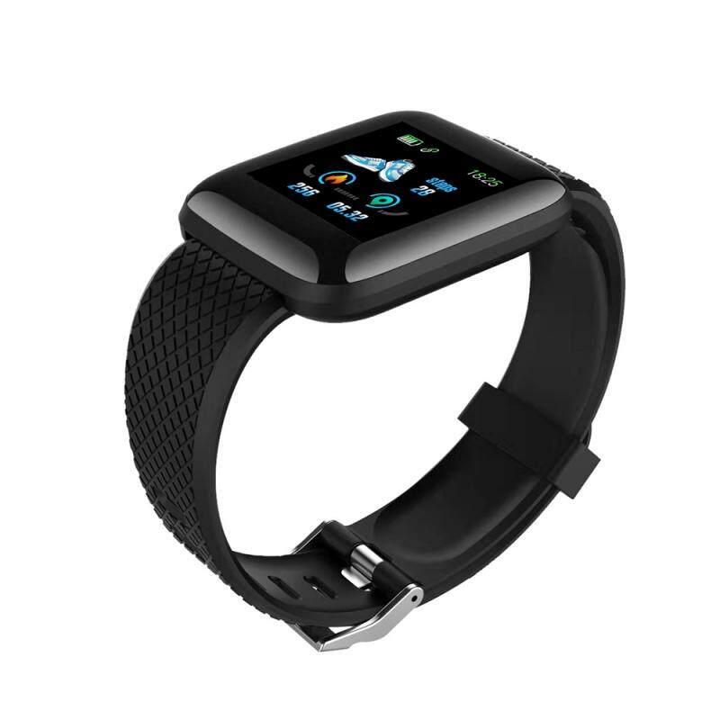 Đồng Hồ Thông Minh 116 Plus Mới Nhất, Bluetooth Thể Thao Đồng Hồ, Sức Khỏe Dây Đeo Cổ Tay Vòng Đeo Tay Đo Nhịp Tim Tập Thể Dục Nam Không Thấm Nước Xem