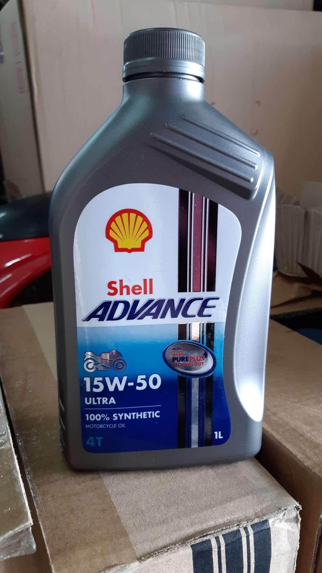 Shell Advance 4T Ultra 15W/50