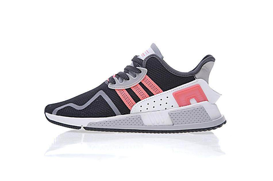 new product d5620 c05ca Sale ADIDA Originals EQT Cushion ADV Men and Womens Running Shoes AH2231  Black White Pink (