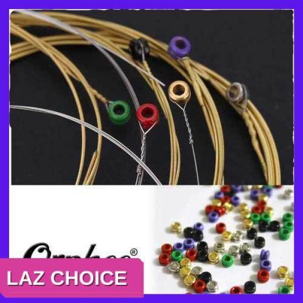 LAZ CHOICE Orphee TX620 6pcs Acoustic Folk Guitar String Set (.010-.047) Phosphor Bronze Extra Light Tension Malaysia