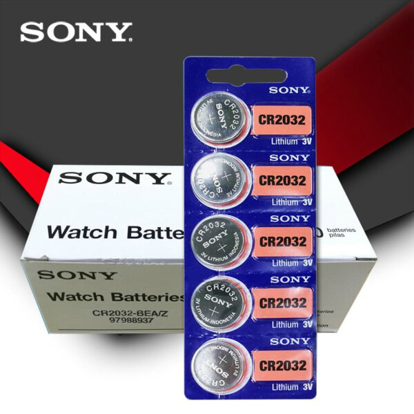 (5 pcs/1 pack)CR2032 Button Batteries BR2032 DL2032 ECR2032 Cell Coin Lithium Battery 3V CR 2032 For Watch Electronic Toy Remote