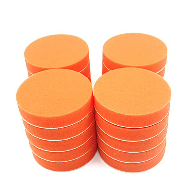 20Pcs 125mm Gross Polishing Buffing Pads 5 Inch Flat Sponge Car Polisher Clean Waxing Auto Paint Maintenance Care