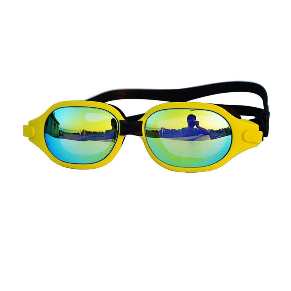 Water Glasses Professional Swimming Goggles Adults Waterproof Swim UV Anti Fog Adjustable Pool Glasses