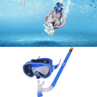 Kính Bơi Trẻ Em Thời Trang, Với Ống Thở, Kính Lặn Thể Thao Dưới Nước Cho Bé Trai Bé Gái Bộ Ống Thở thumbnail