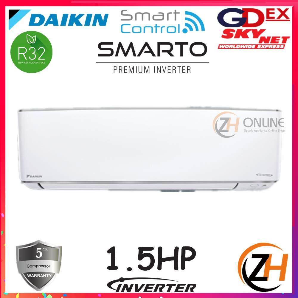 *DAIKIN 2019 AllNew R32 FTKH35AV1L 1.5HP SMARTO Premium Inverter FTKH A Series FTKH35A & RKU35F