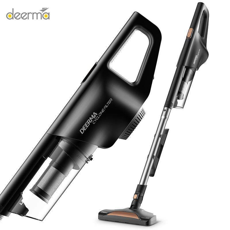 Deerma 2-in-1 Hand-held & Vertical Household Silent Vacuum Cleaner Singapore