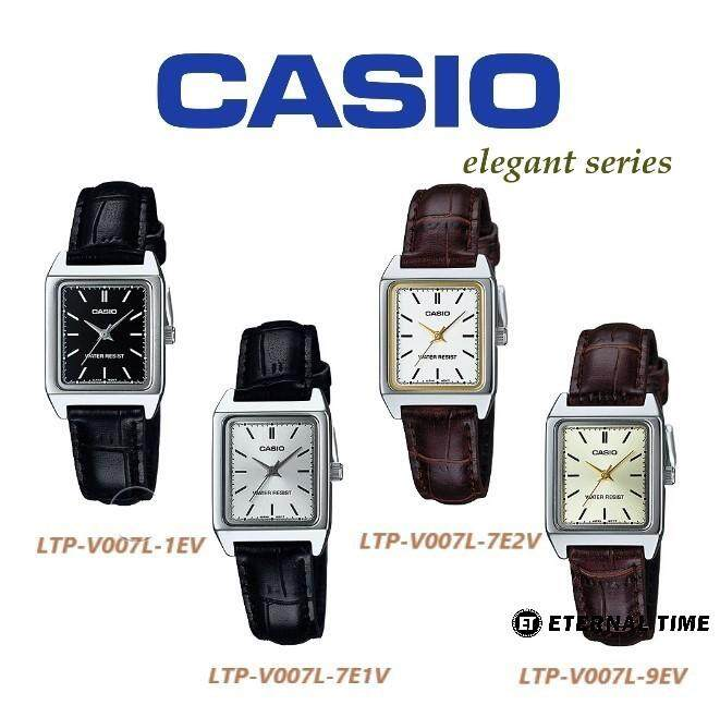 (2 YEARS WARRANTY) CASIO ORIGINAL LTP-V007L SERIES STANDARD ANALOG-LADIES WATCH Malaysia