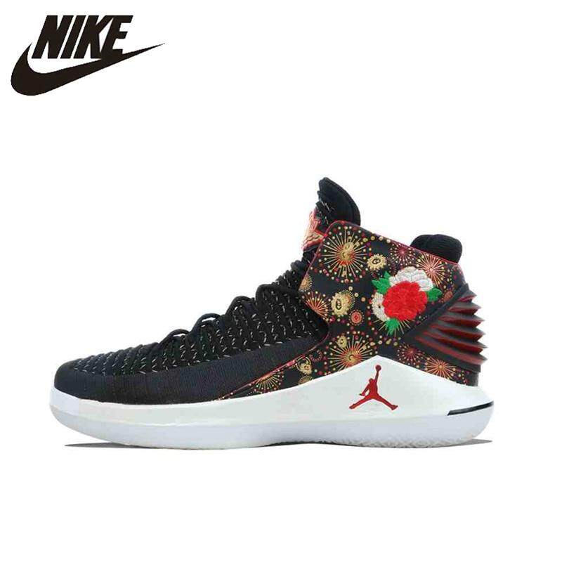 กาญจนบุรี Original New Arrival Authentic Nike_AIR_JORDAN XXXII PF CNY AJ32 Men s Basketball Shoes Sneakers Sport AJ6333-042