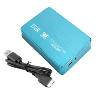 Hộp Đựng Ổ Đĩa Cứng HDD SSD Gắn Ngoài Loại C USB 3.1 2.5Inch SATA Hộp Chuyển Đổi thumbnail