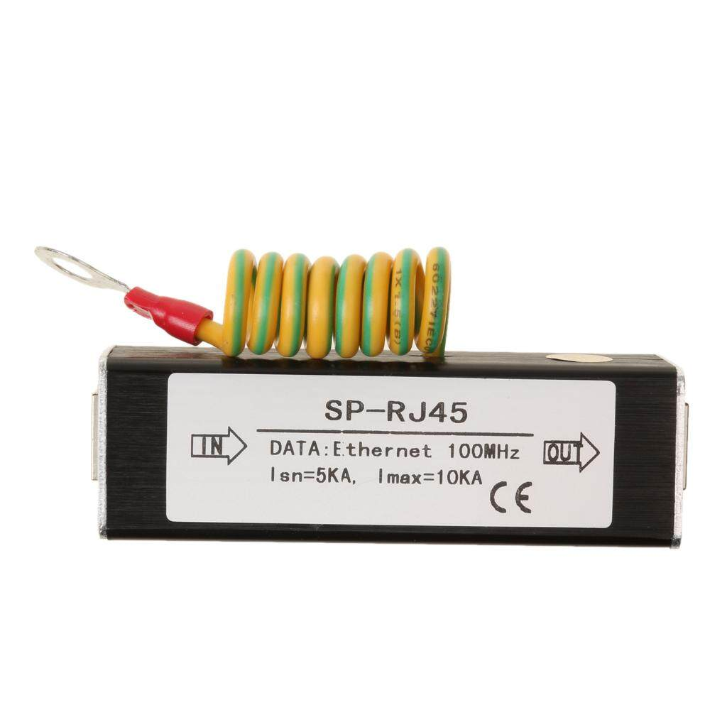 Gazechimp Jaringan Rj45 Adaptor Lan Ethernet Surge Protector Penangkal Petir Diterapkan By Gazechimp.
