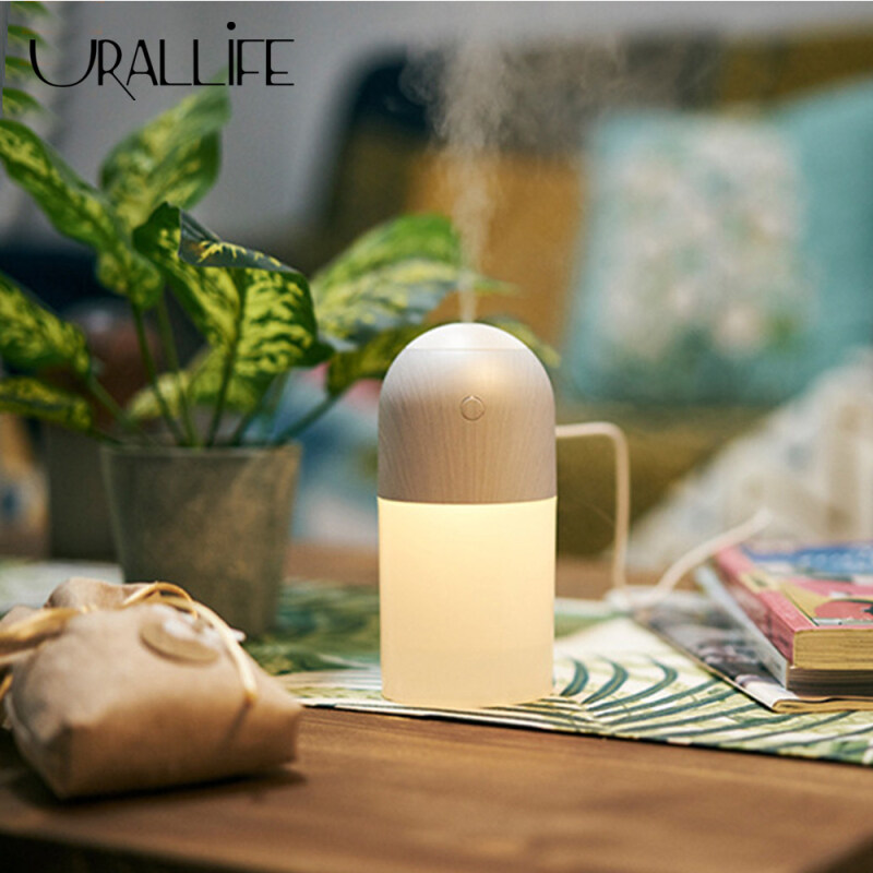 Xiaomi Ecological Chain Urallife 300mL Mini Silent Humidifier Usb Mute Home Bedroom Dormitory Student Aromatherapy Small Office Desktop With Night Light