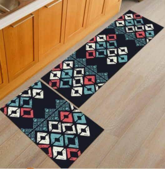 2 Pcs /set Kitchen Mat Carpet Anti Slip By Sc Automation.